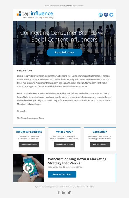 Best Email Design Images On   Email Design Email