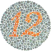 If you can't read the number, you may have colour vision deficiency (colour blindness).