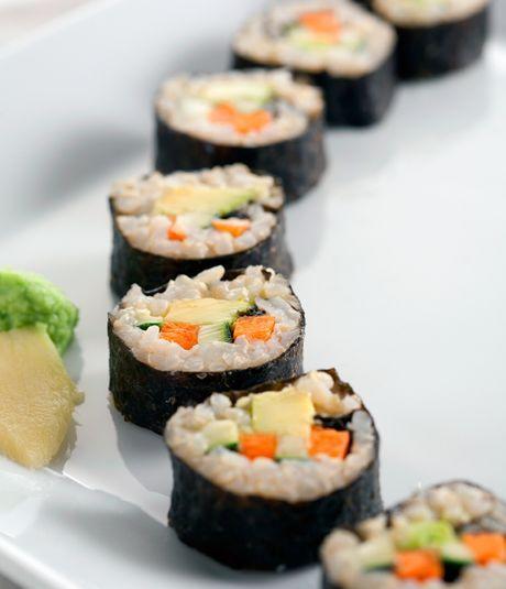Sushi de Arroz Integral (en olla exprés)