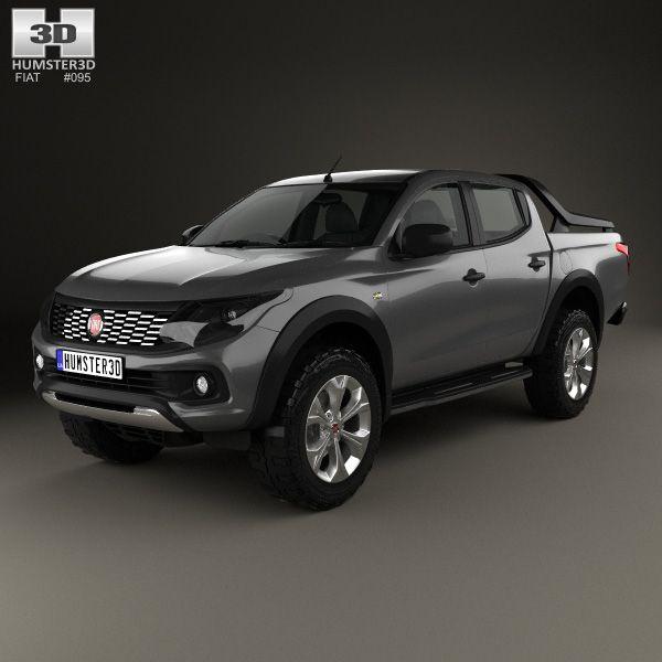 Fiat Fullback 2016 3d model from Humster3D.com.