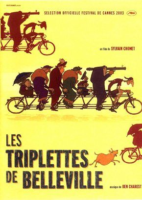 As Bicicletas de Belleville (2003)