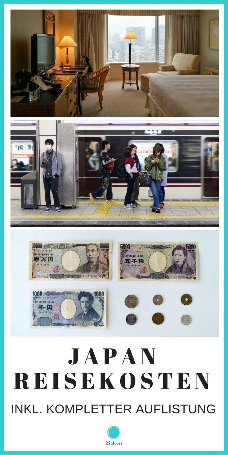 Japan Reisekosten: So teuer ist Urlaub in Japan. Wir haben alle Kosten unserer Japan-Reise aufgelistet und geben Tipps zum Geld sparen.