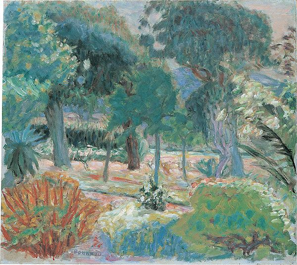 Pierre Bonnard - Le Jardin dans Le Var / The Garden in the Var, 1914, oil on canvas