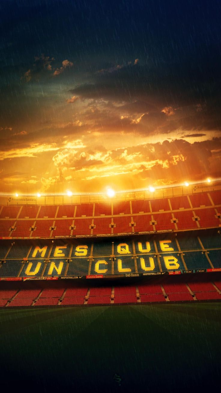 "Més que un club... i més que un estadi . . . ""More Than A Club"" has great social, political, and historic meaning to Barcelona and Catalans."