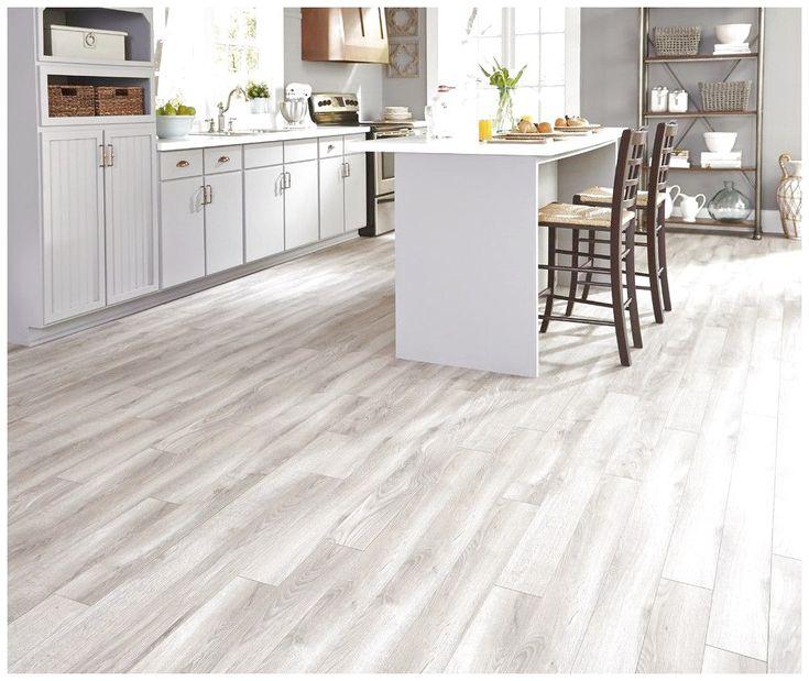 Ceramic floor tiles that look like wood planks