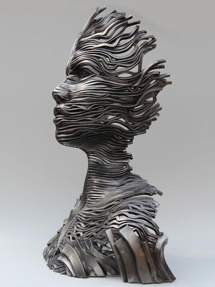 Hervorragend Les 25 meilleures idées de la catégorie Sculpture en acier sur  KR44