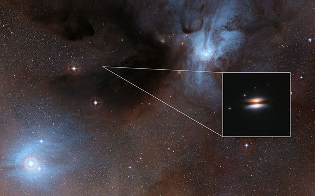 """""""Fliegende Untertasse"""" zwingt zur Überarbeitung der Modelle protoplanetarer Scheiben . . . http://www.grenzwissenschaft-aktuell.de/ueberarbeitung-der-modelle-protoplanetarer-scheiben20160205"""