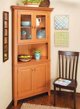 Classic Corner Cabinet | Woodsmith Plans