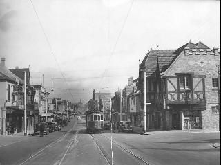 SEPTEMBER 1939: Toorak Rd, Toorak Village. Picture: Herald Sun Image Library