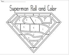 "Tales From a K-1 Classroom: Daily 5 Math- lots of ""roll and color"" pages"