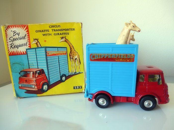 Toys Corgi - Schaal 1/48 - Chipperfields Giraffe Transporter No.503