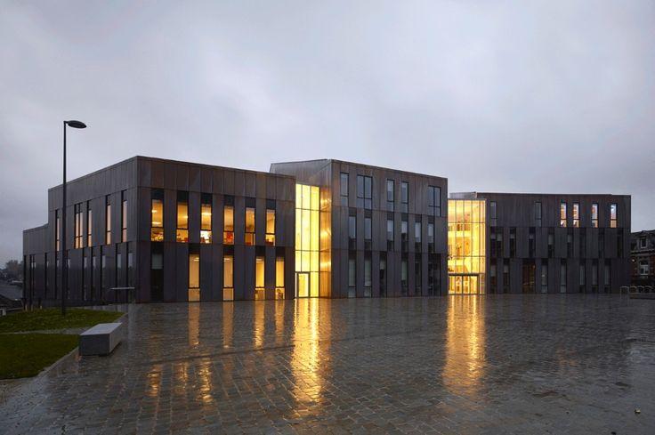 Городская архитектура: современный экстерьер здания в Жамблу - Фото 4