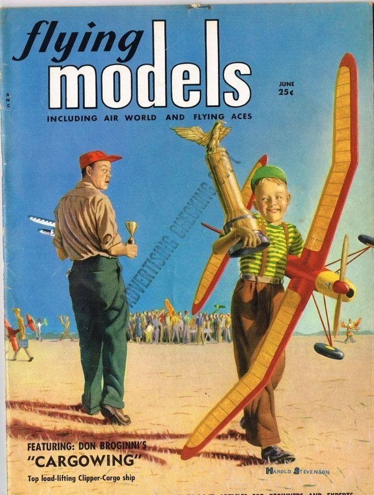 Flying Models June 1952 Solitare F F Floatplane by Paul Palanek | eBay