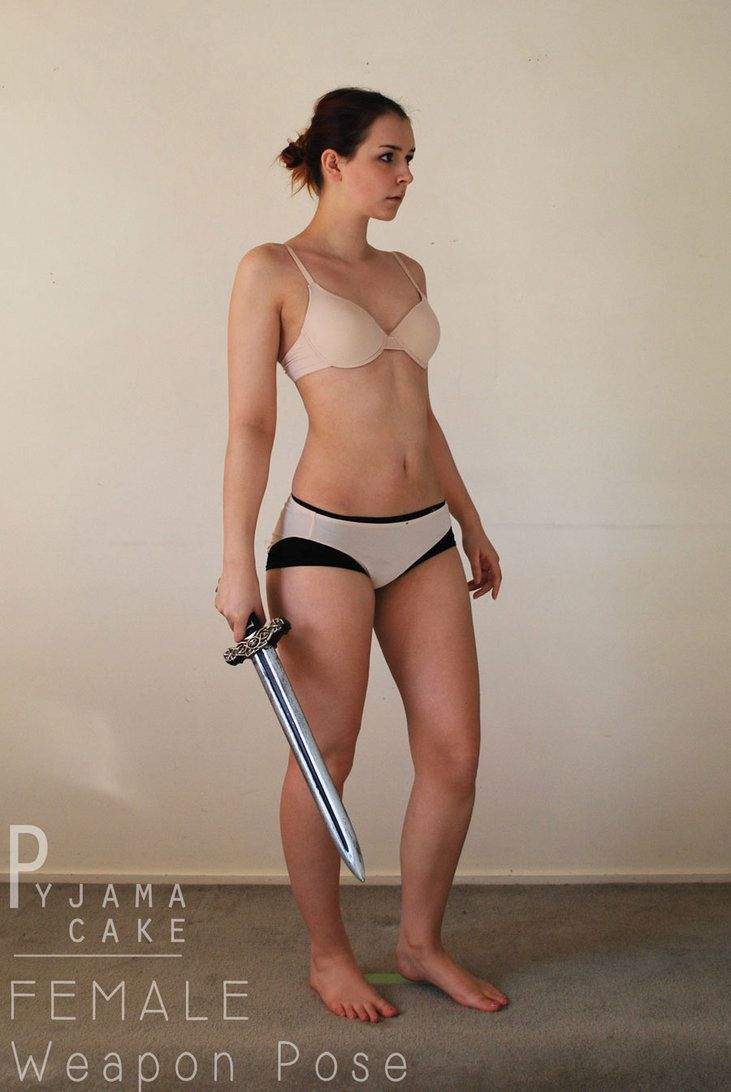 FEMALE Weapon 9 [sword] by pyjama-cake | Pose Ref | Female ...