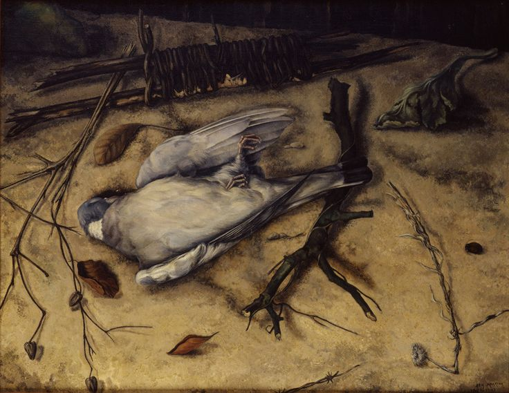 Johan Mekkink (1904–91), Stilleven met houtduif (Still-life with wood pigeon), 1943/44–1947 Paintings from the upcoming exhibition, In the Shadow of Tomorrow: Neo-realism in the Netherlands