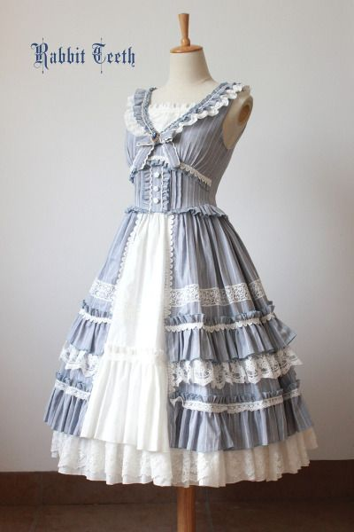Peacefulworld dress gray - I like parts of the bodice