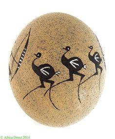Ostrich Eggs On Pinterest