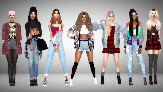 Sims 4 Look Books And Cc Finds Sims 4 Pinterest