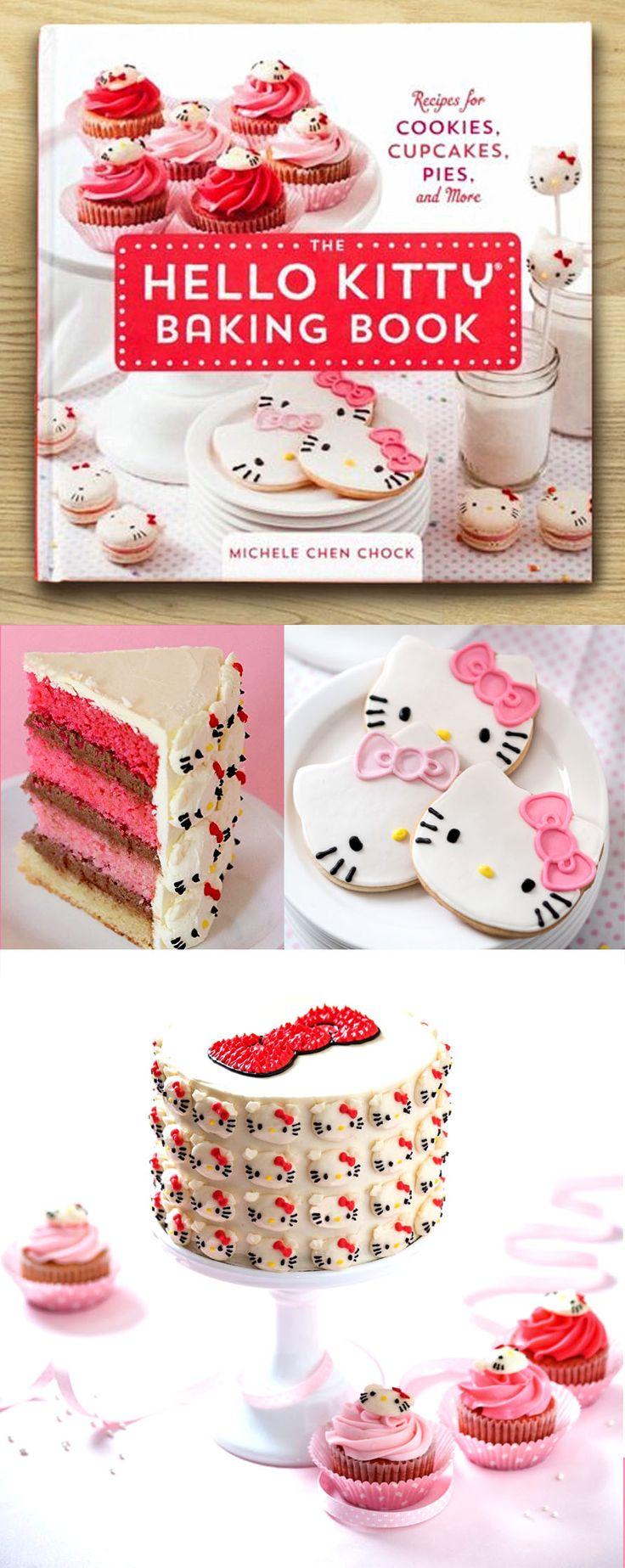 Hello Kitty Baking Book #hellokitty #baking #kawaii #japan #merch #merchandise