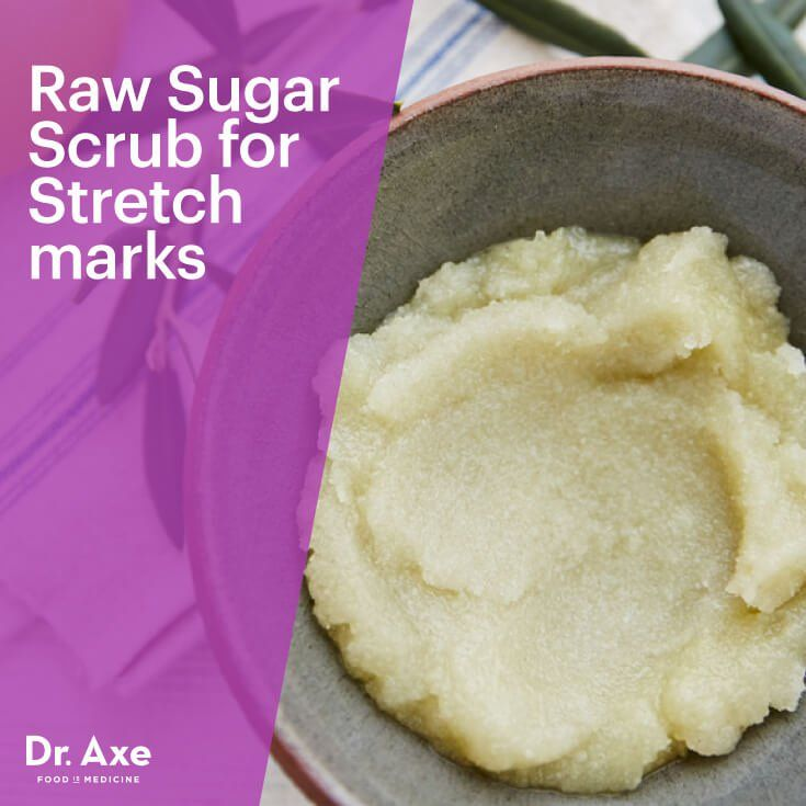 Stretch Mark Scrub with Raw Sugar & Shea Butter - Dr. Axe