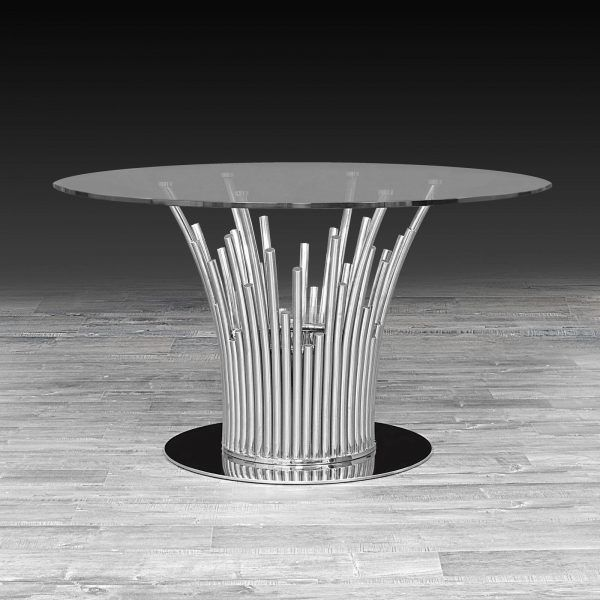 Silver Dining Table Mauris Dining Interior Dining Table Table
