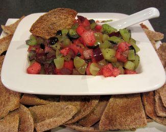 Fresh Fruit Salsa with Honey & Poppy Seeds  www.eats.macaronikid.com