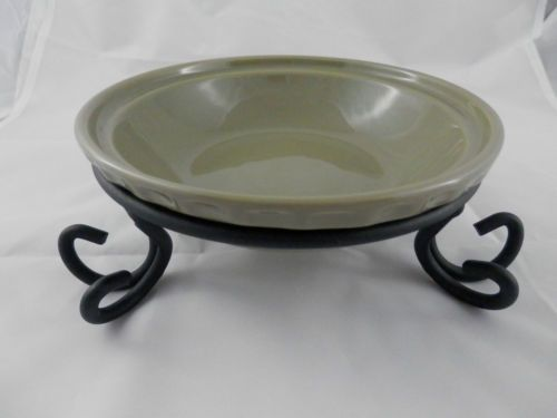 Longaberger 6  Pie Plate Wrought Iron Holder & 127 best Longaberger Pottery images on Pinterest | Dish Basket and ...