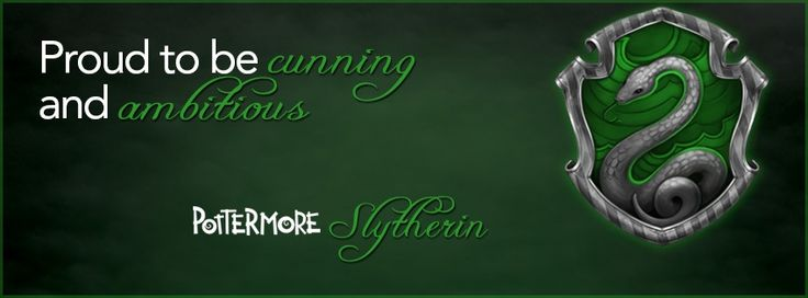 Pottermore Slytherin Facebook cover photo | Cool ...