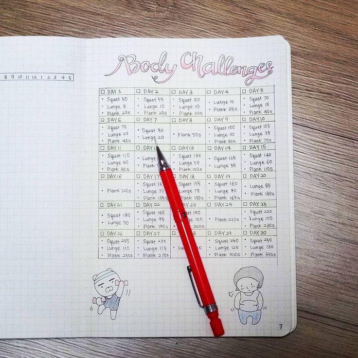 workout notebook