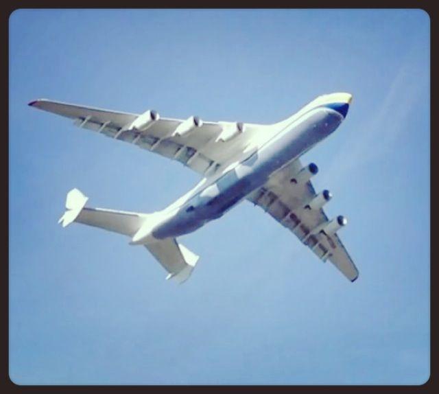 Antonov An-225 abflug von Zürich-Kloten
