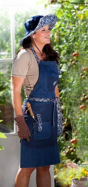 Tuinschort 'Denim' – GardenGirl