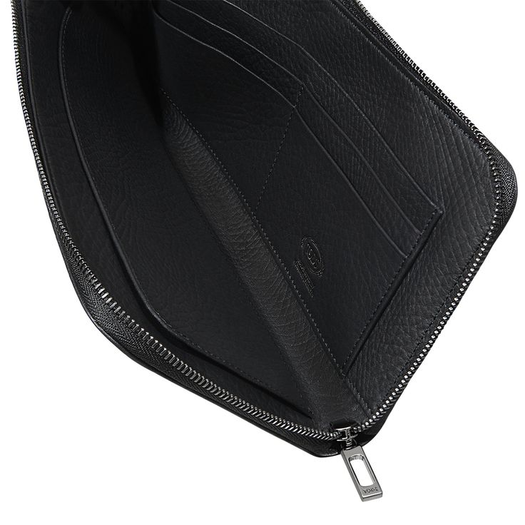 Travel Document Holder in Leather XAMMCLD6300EPTB999, Small Leather Goods, Accessories, Fall-Winter, Man - Tod's