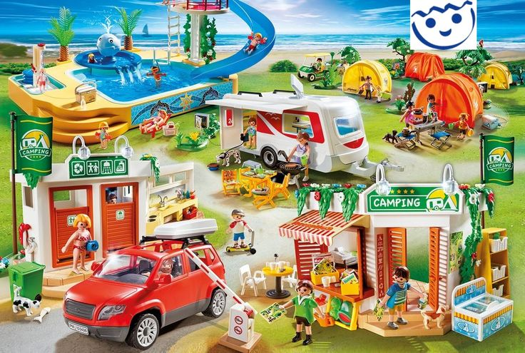 NEW-Playmobil-Camping-Holidays-COMPLETE-SET-5432-5433-5434-5435-5436-5437-5438-9