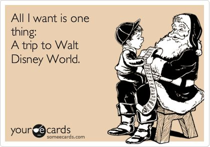 It's only one thing, Santa. Please????