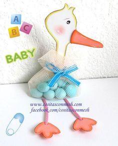 Cigueña Con Dulces Para Baby Shower   Aprender Manualidades Es  Facilisimo.com