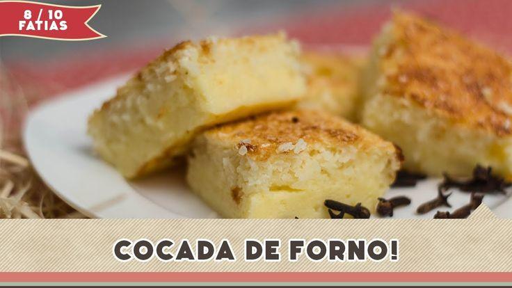 Cocada de Forno - Receitas de Minuto EXPRESS #53