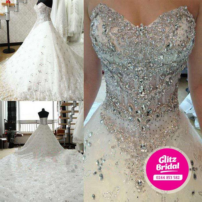 Glitz bridal boutique in Nashville carries all the bridal gowns with all the glitz!  This beauty is encrusted with crystals galore! Click the image and contact them today for a personal consultation! Photo credit: Glitz Bridal Facebook