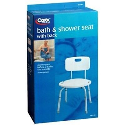 Bath Tubs 113814: Carex Health 13.5 -20.5 Adjustable Bath And Shower Seat With Back (Pack Of 3) -> BUY IT NOW ONLY: $132.52 on eBay!