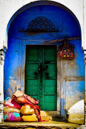 Reisfotografie kleurrijk straatfotografie India Rajashtan. Foto door Marijke Krekels fotografie
