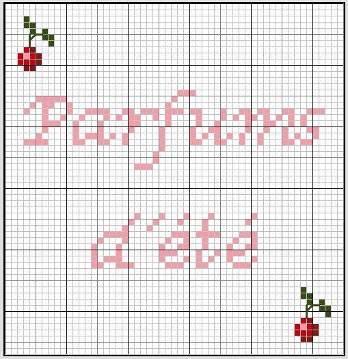 salle de bains - bathroom - parfums - point de croix-cross stitch - broderie-embroidery- Blog : http://broderiemimie44.canalblog.com/