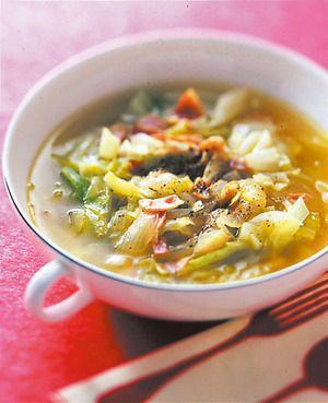 キャベツとベーコンのスープ | 広沢京子さんのレシピ【オレンジページ ...