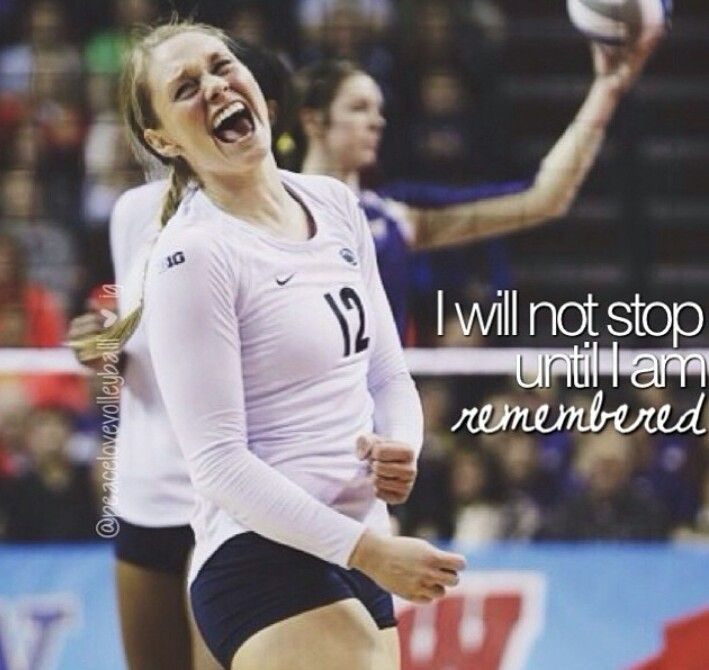 Volleyball<3 here's to dreaming big *cough* Olympics *cough* :)