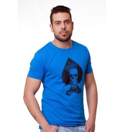 Camiseta Manga Corta azul ee exclusive