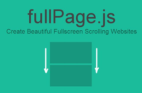fullPage.js is a jQuery plugin for creating stunning fullscreen scrolling websites as if they were slides. You can move vertically and horiz...