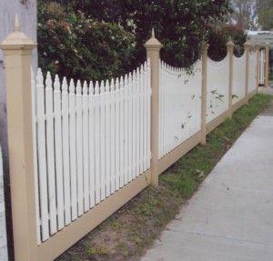 Picket & Colourbond Fencing - lockfastfencing.com.au