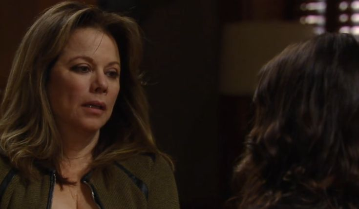 "Alexis Davis (Nancy Lee Grahn) and Dr. Hamilton Finn (Michael Easton) need to check into, ""General Hospital,"" stat! Both are fighting crippling addictions but choosing the DIY route, duking it out at home. Are they strong enough to resist the devil and come out victorious? Legal eagle Alexis has be"