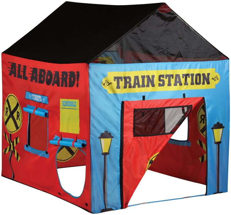 Pacific Play Tents Train Station House Tent - Free Shipping