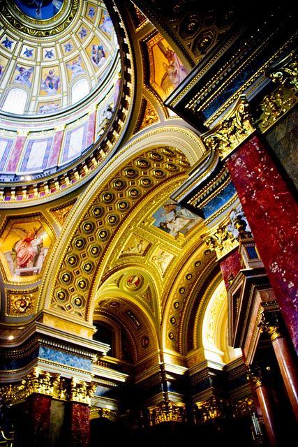 St Stephen's Basilica. Budapest, Hungary.