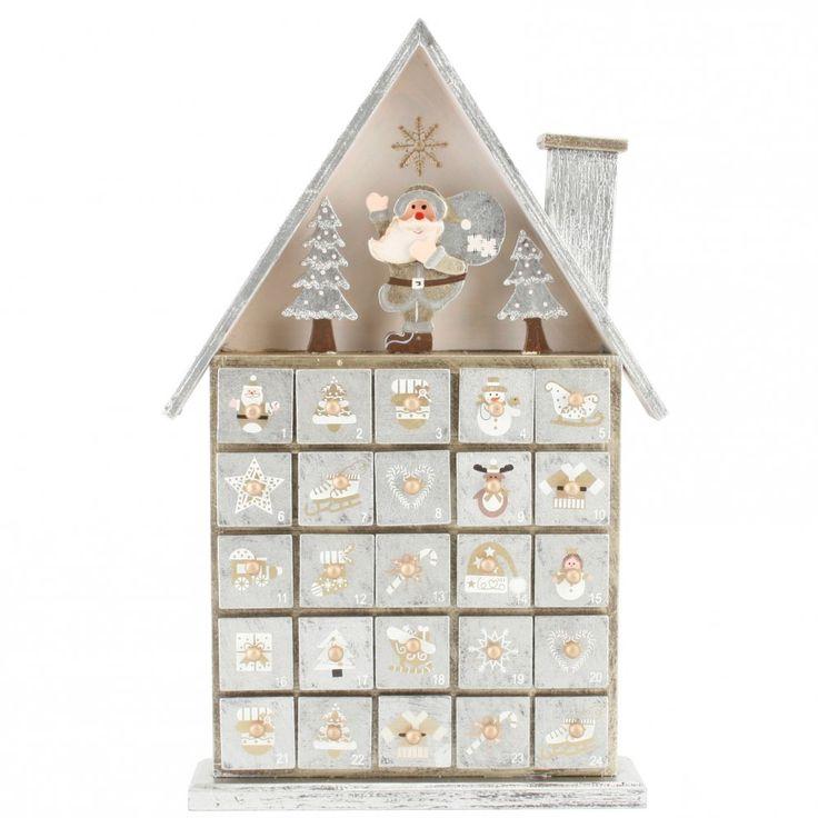 Wooden Advent Calendar Box