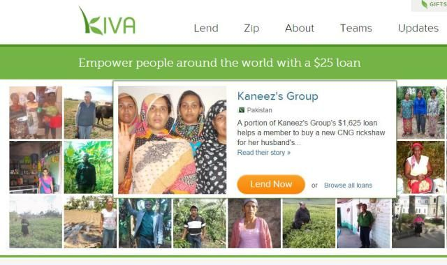 Nonprofit Mission Statements for Today's Donors: Kiva